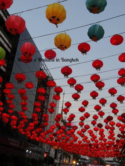 Lanternes in Chinatown