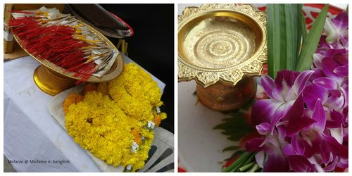 Boudhisme  fleurs et encens