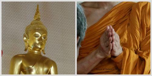 Boudhisme  boudha et prières
