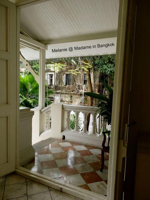 Residence de France Bangkok le perron