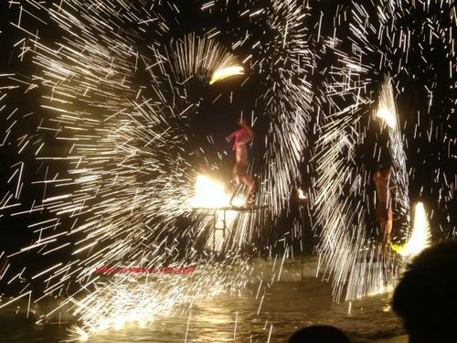 Fire show in Koh chang
