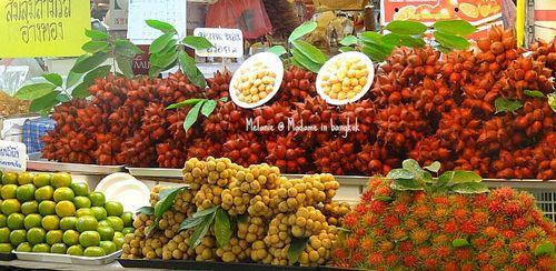 Or tor kor market fruits