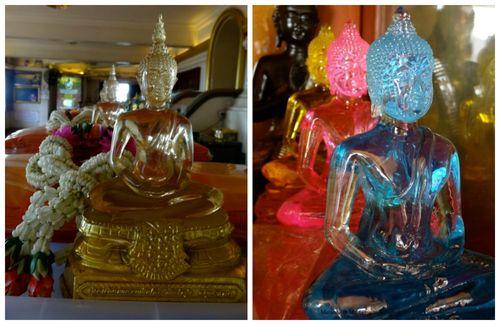 Golden mount buddhas  Collage