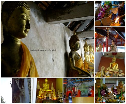 Amphawa cruise temples Collage