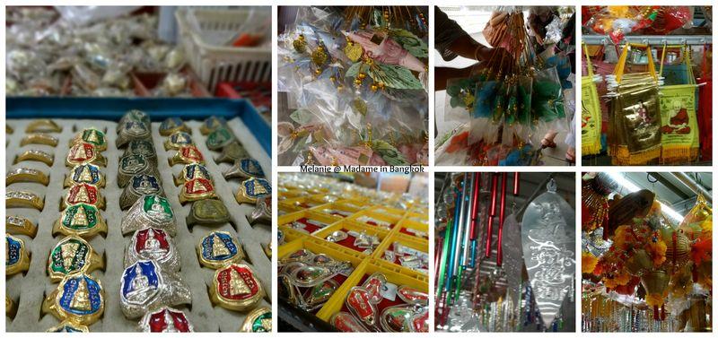 Wat sothon amulettes et superstition Collage