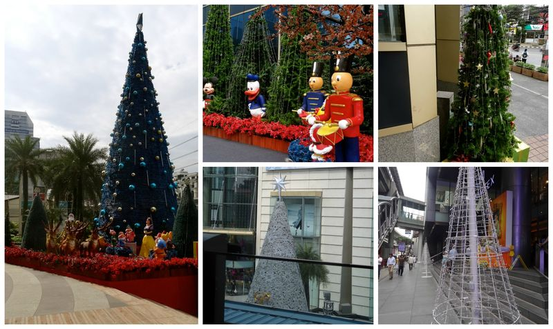Christmas in Bangkok Collage