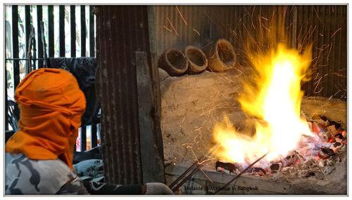 Thonburi worker in ban bu