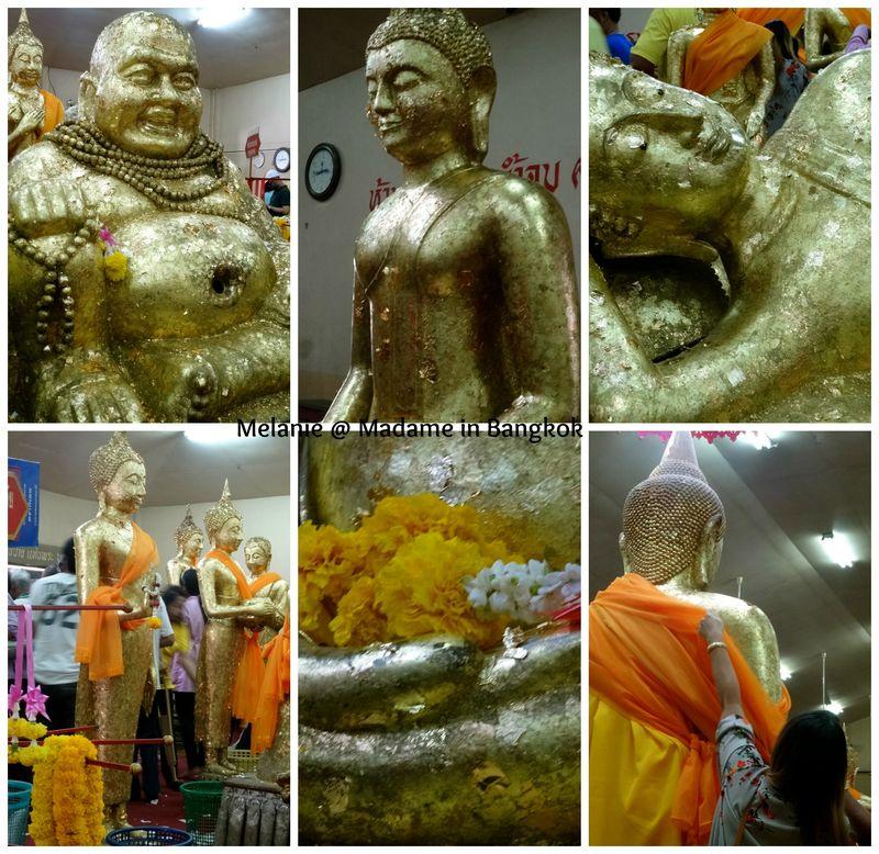 Wat sothon buddhas Collage