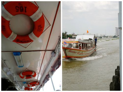 Chao Phraya river express Collage