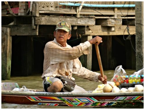 Thonburi marchand