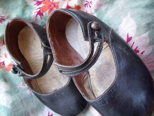 Vintage girl shoes